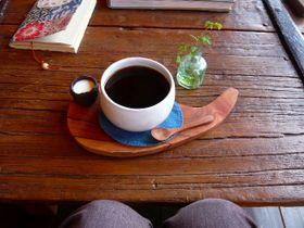 カップが癒されるコーヒーです