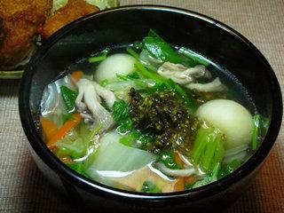 かぶのスープ