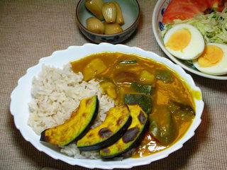 夏野菜のカレー