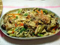 しめじと野菜の炒め物
