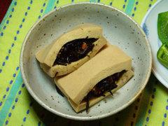 高野豆腐のひじき煮詰め