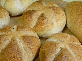 地粉でパン