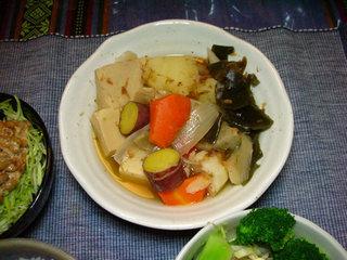 高野豆腐と野菜のゴロゴロ煮
