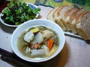 冷蔵庫一掃つぶつぶスープ