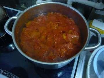 煮たトマト
