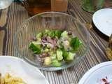 お豆さんのサラダ