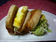 薄焼き卵サンド