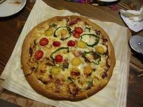 11インチのピザ