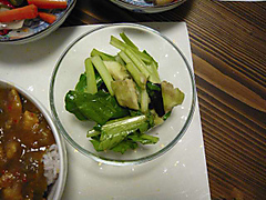 生の小松菜サラダ