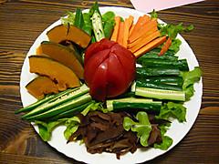 夏野菜のスティック