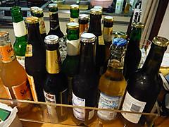 ビールの後ろ姿