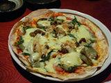 ヘチマのピザ