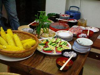 季節野菜の料理