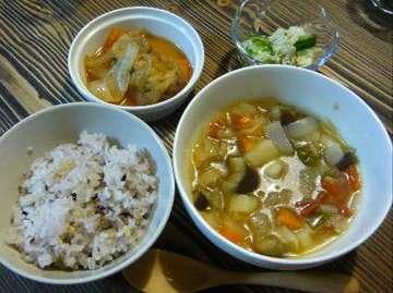 スープ定食